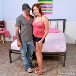 Cute Amateur Redhead Teeny Chick Charlie Ann in First Porn Scene 03
