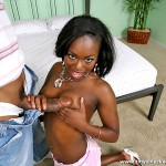 Pretty Little Ebony Teen Janea Jolie Picked-Up & Fucked 08
