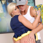 Naughty Andi Heart is the Perfect Naughty Cheerleader 02