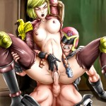 Wickedly Hot Hentai Babes Cast their Spell 15