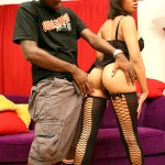 Ebony Teen Kadija Gets Pimped and Turned Out 05