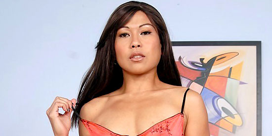 Small Tit Asian Hottie Max Mikita Fucked in Her Hairy Pussy