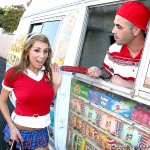 Sweet Looking Schoolgirl Alyssa Hall Screams for Ice Cream 01