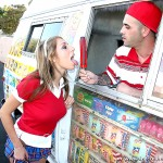 Sweet Looking Schoolgirl Alyssa Hall Screams for Ice Cream 02