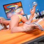 Big Booty Blonde Bombshell Cayden Moore Gets Her Pussy Poked 02