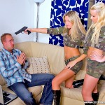 Hot Blonde Girls Cherry Jules and Cindy Dollar Track Some Cock 02