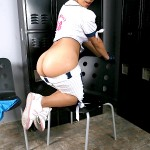 Hot Latina Baseball Playing Babe Laurie Vargas Gets Her Bush Fucked 04