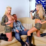 Hot Blonde Girls Cherry Jules and Cindy Dollar Track Some Cock 04