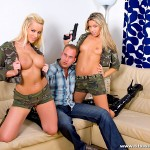 Hot Blonde Girls Cherry Jules and Cindy Dollar Track Some Cock 05