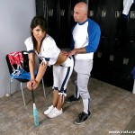 Hot Latina Baseball Playing Babe Laurie Vargas Gets Her Bush Fucked 07
