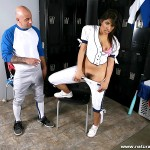 Hot Latina Baseball Playing Babe Laurie Vargas Gets Her Bush Fucked 08