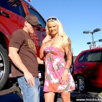 Buxom Blonde Bombshell Rylee Richardson Trades Ride for Ride 01