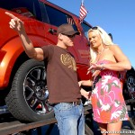 Buxom Blonde Bombshell Rylee Richardson Trades Ride for Ride 02