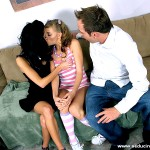 Cute Teen Babysitter Nicole Ray Gets Fucked by Horny Couple 02