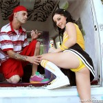 Naughty Cheerleader Melissa Matthews Fucks the Ice Cream Man 03
