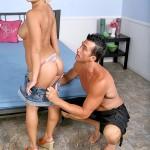 Petite Blonde Teen Tristan Taylor Rides Big Cock 06