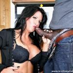 Horny Big Tit Brunette MILF Kendra Secrets Fucks Black Cock 07